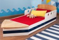 kidkraft boat toddler bed 76253