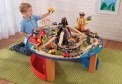 KidKraft dinosaur train set and table