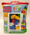 MEGA BLOKS First Builders Big Building Blocks Bag Toy