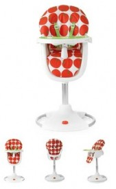 Cosatto 3Sixti Circle Highchair, Tomato